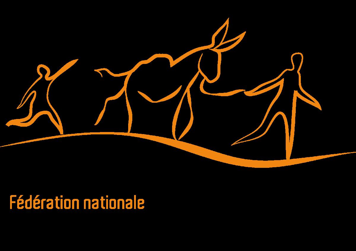 Logo de la Fédération national des ânes et randonnées