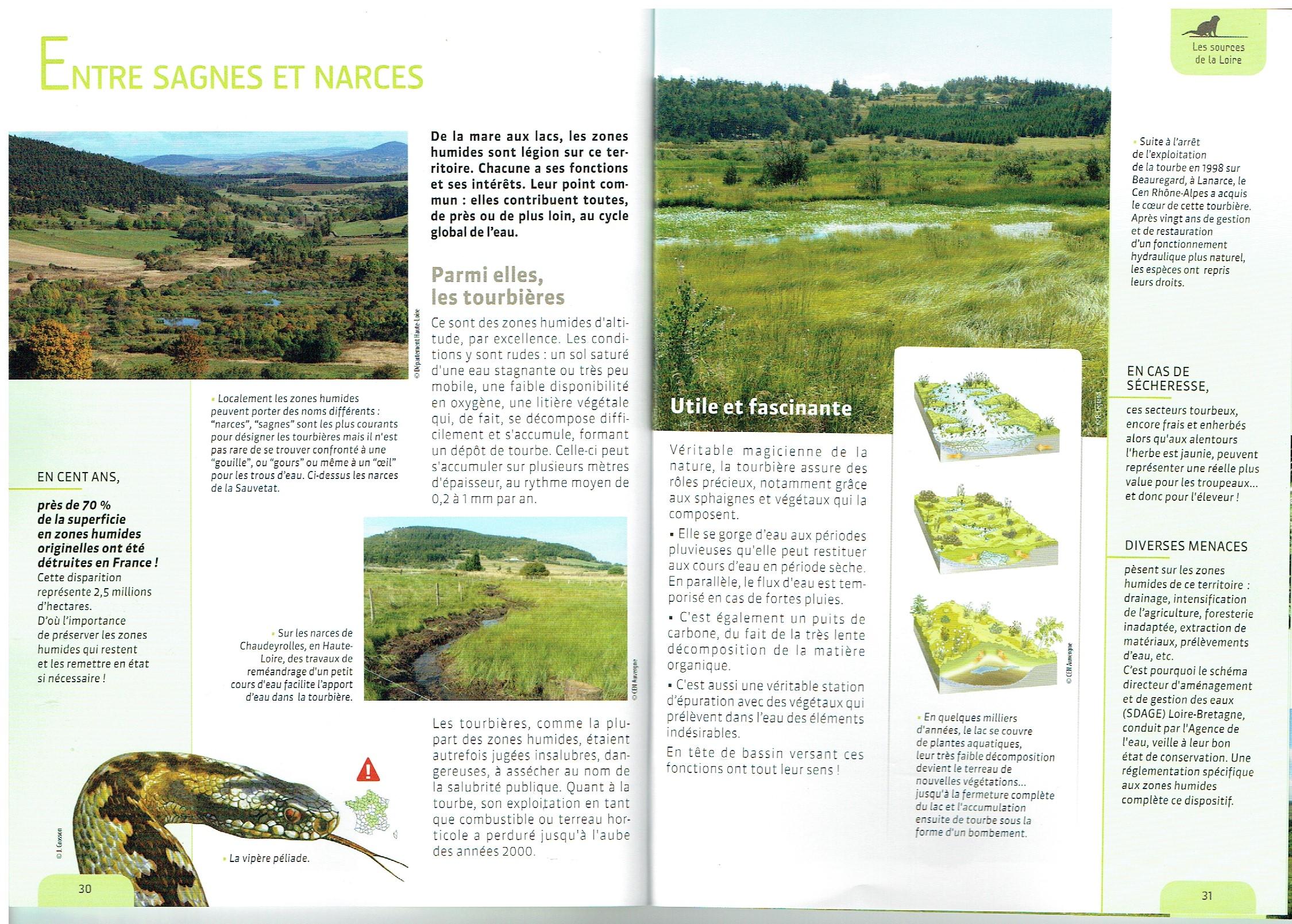 Guide rando pour découvrir la nature des monts d'Ardèche et de la Haute-Loire