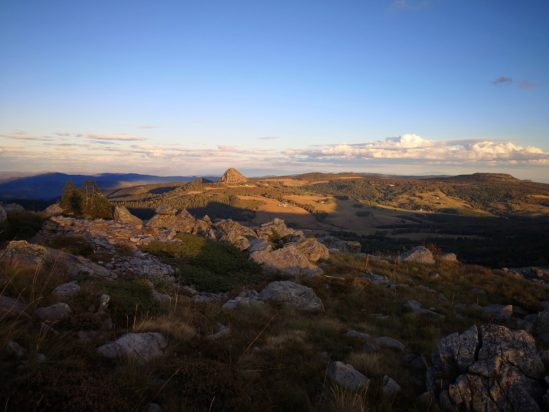 Rando guidée sur le partage des eaux et le GR®7 des Monts d'Ardèche