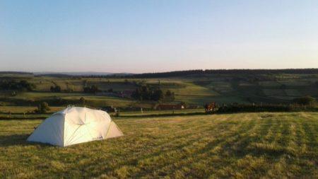 Des sources de la Loire au chemin de Stevenson avec un âne