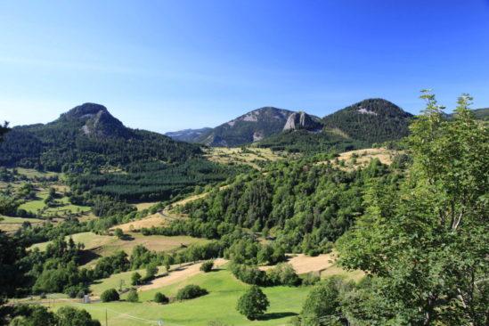 Lever de soleil au Mont Gerbier de Jonc et tour des Coux