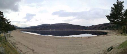 Le lac d'Issarlès, un ancien volcan de type maar