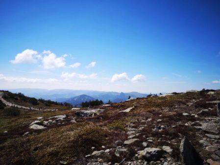 Une magnifique rando au Mont Mézenc et au cirque des Boutières