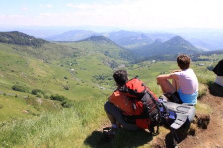 Souvenir de rando itinérante, de raquettes et de rando avec les ânes en Ardèche