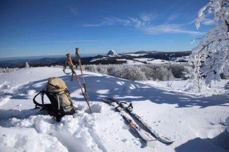 De très bonnes conditions de neige pour la rando raquettes ou ski nordique